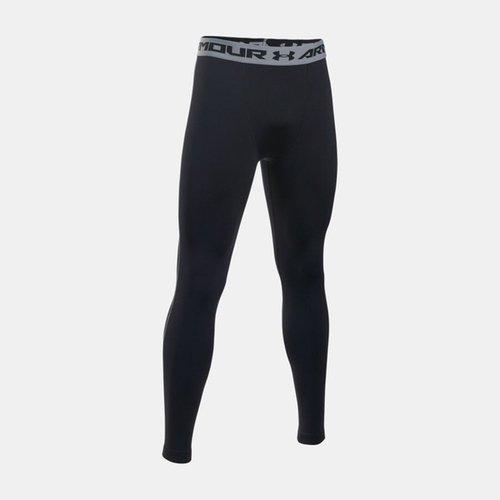 UA HG Armour [1257474-001] 男 強力 伸縮型 緊身褲 運動 訓練 舒適 透氣 支撐 包覆 黑