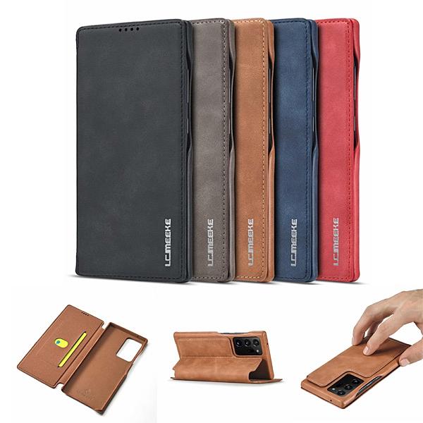 三星 Note20 Note20 Ultra 鴻古系列 手機皮套 掀蓋殼 插卡 支架 皮質 皮套 保護套