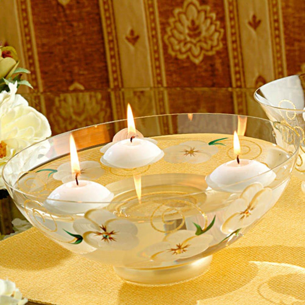 【Madiggan貝斯麗】玫瑰系列手工彩繪開運玻璃碗 (金黃、紫色、粉紅)