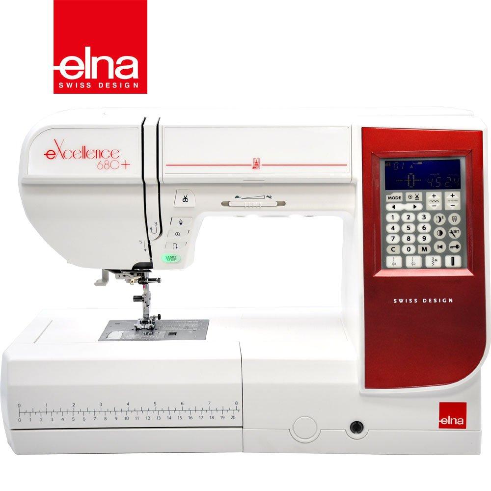 【瑞士elna】電腦型家用縫紉機 eXcellence 680+