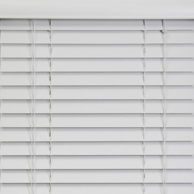 50mm Embossed Grain PVC Foam Wood Faux Wood Window Venetian Blinds