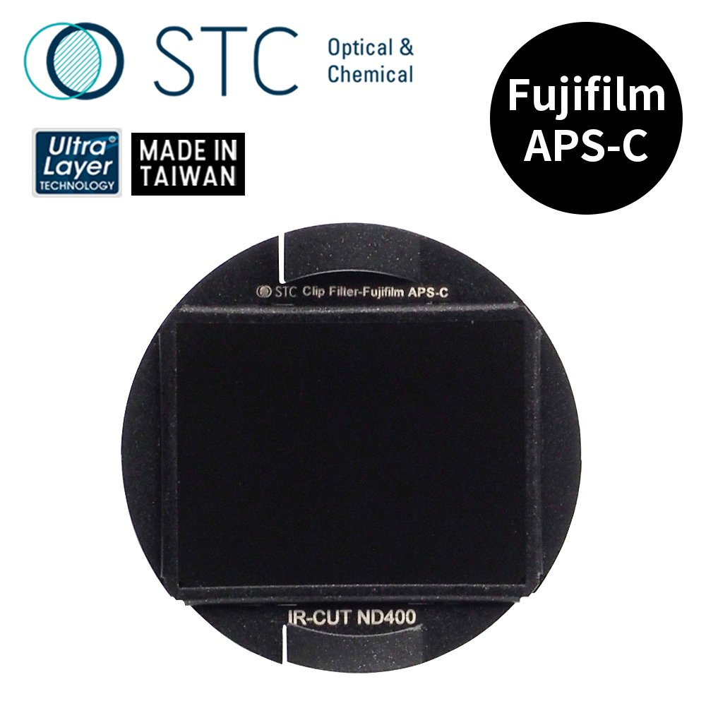 【STC】Clip Filter ND400  內置型減光鏡 for Fujifilm APS-C