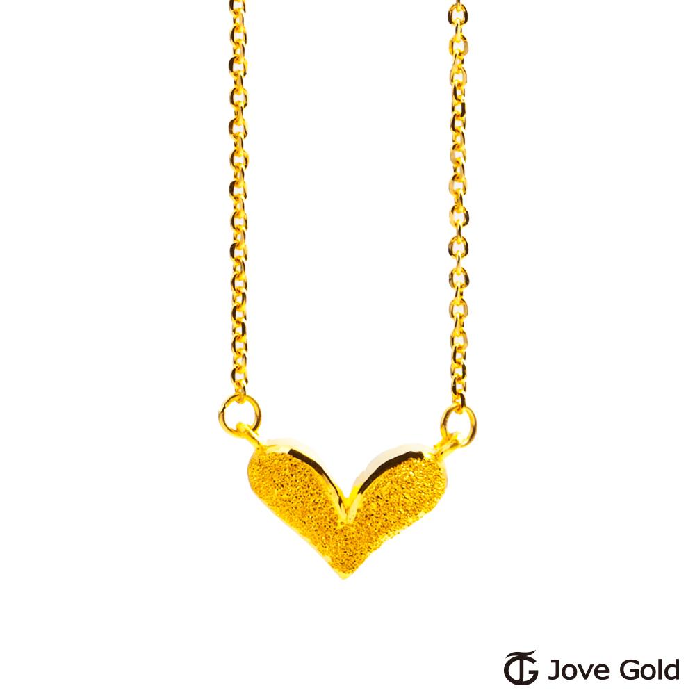 Jove Gold 漾金飾 美人心黃金項鍊