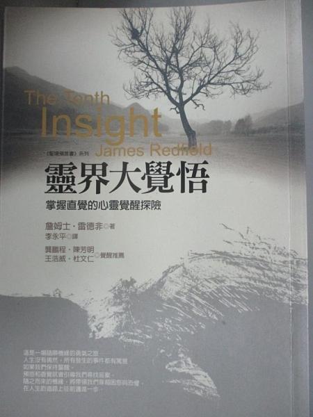 【書寶二手書T8/翻譯小說_GHV】靈界大覺悟-掌握直覺的心靈覺醒探險_詹姆士‧雷德非