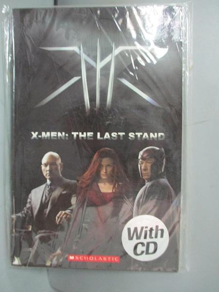 【書寶二手書T4/原文小說_GFK】X-men 3 with CD_Scholastic