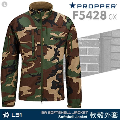 Propper BA Softshell Jacket 軟殼外套-叢林迷彩F5428