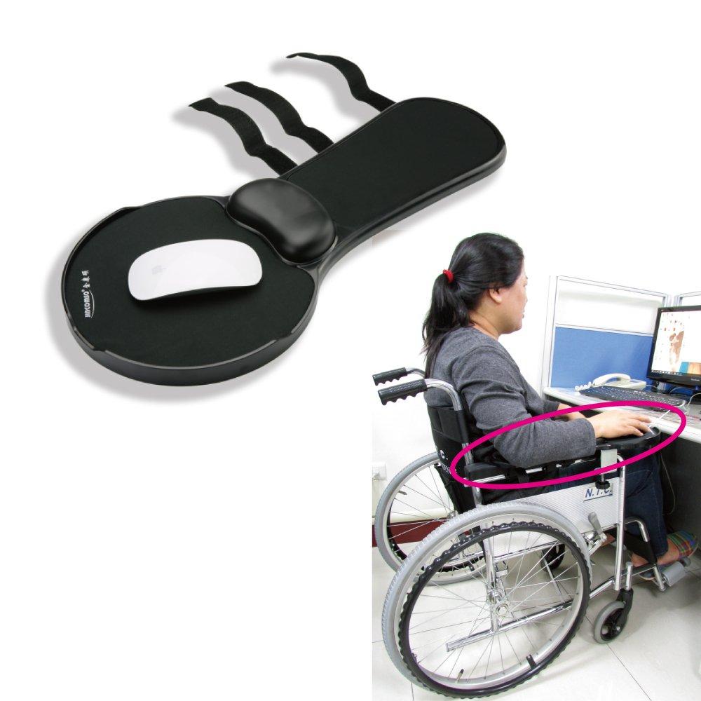 感恩使者 多功能可托手滑鼠墊 [ZHCN1782] - 輪椅扶手可用,可安裝在桌面