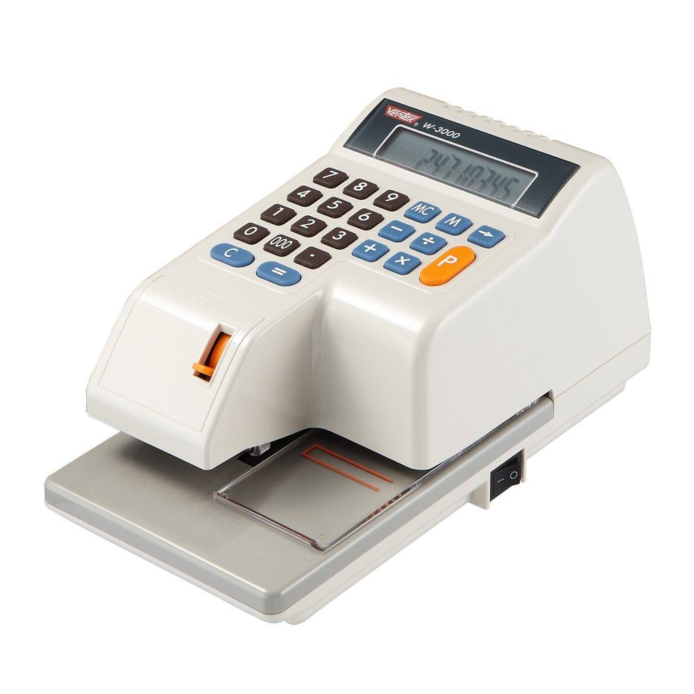 VERTEX世尚 W-3000N 多國幣別數字支票機