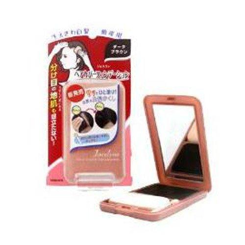 日本百年品牌YANAGIYA遮白髮魔術粉餅-黑褐色