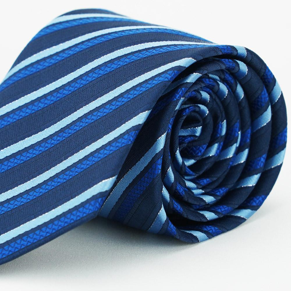 【雅派Alpaca】藍白斜紋領帶