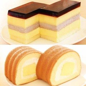 【麥之鄉】蛋糕捲布丁2入組(楓糖+咖啡凍)
