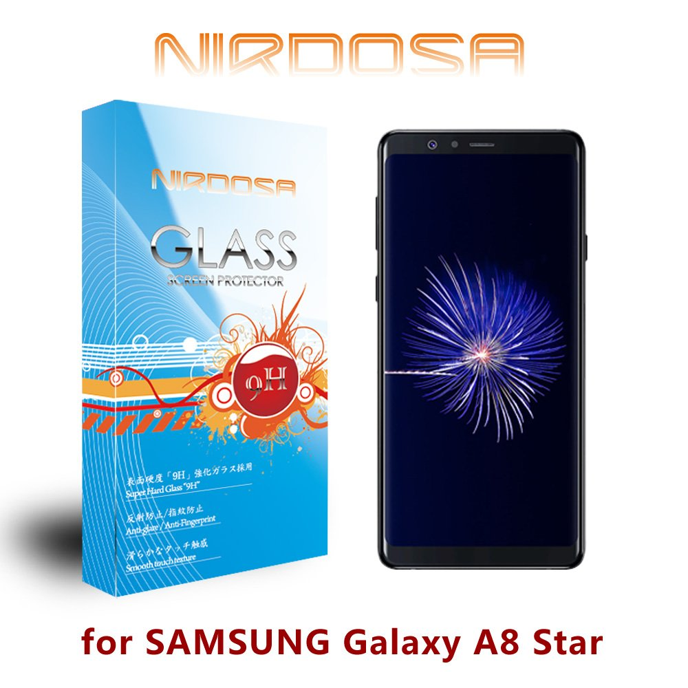 NIRDOSA SAMSUNG Galaxy A8 Star 9H 0.26mm 鋼化玻璃 螢幕保護貼