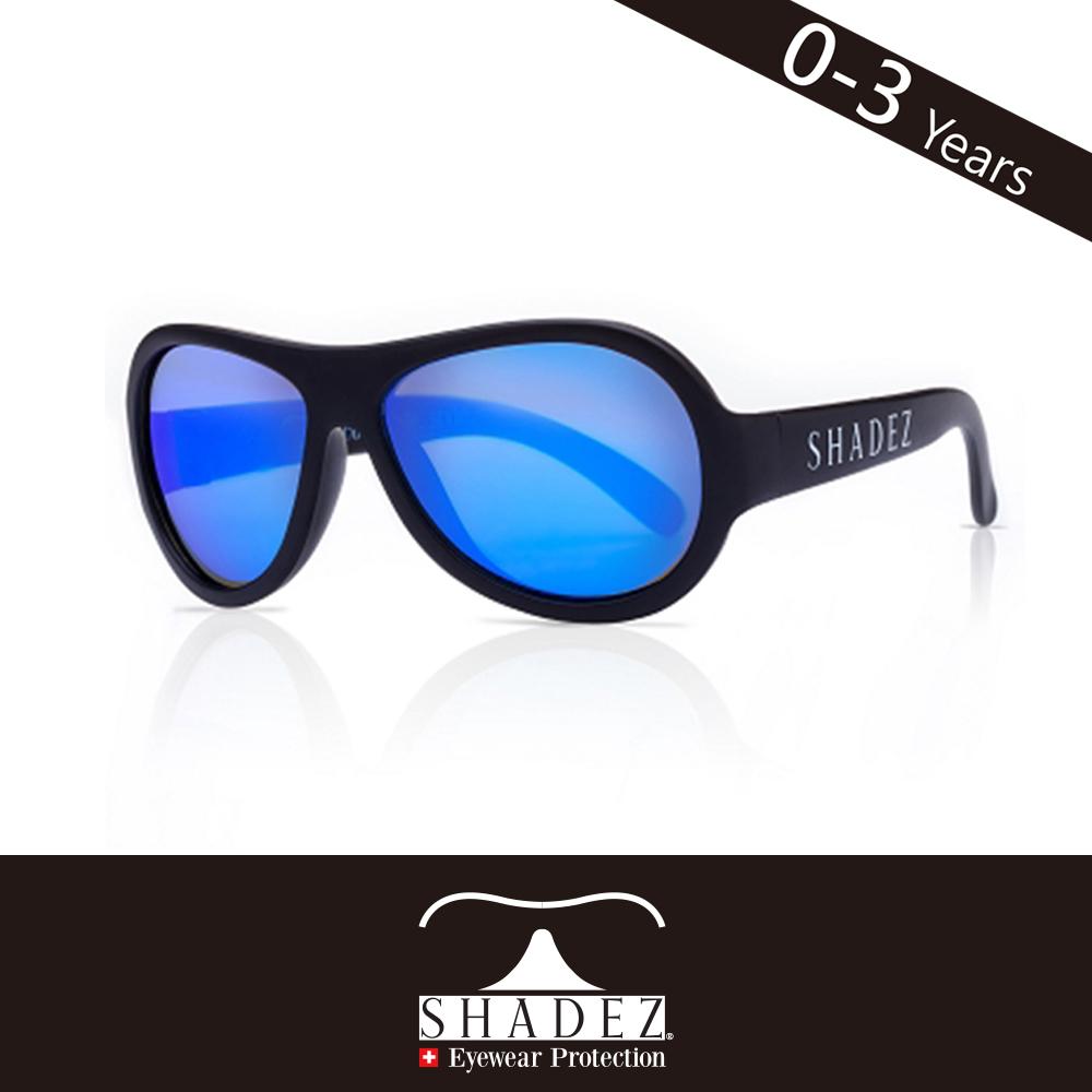 瑞士SHADEZ 兒童太陽眼鏡SHZ-01(年齡0-3)--極光黑