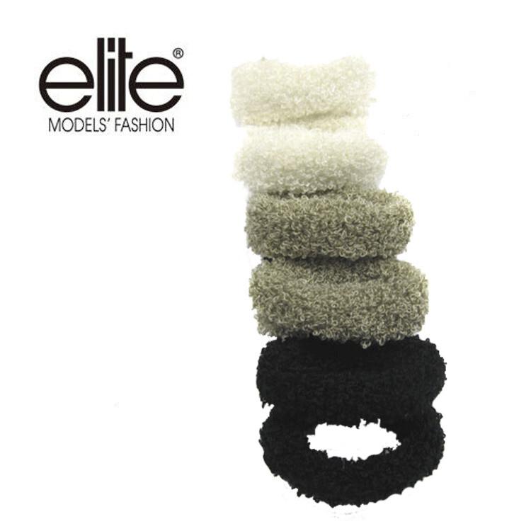 olina法國 elite 髮圈 (小毛毛圈)-3入組