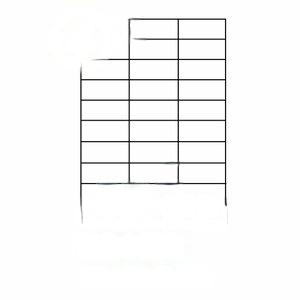 【裕德 標籤】Unistar US4456 電腦列印標籤紙/三用標籤/30格/70×29.7mm(100張/盒)