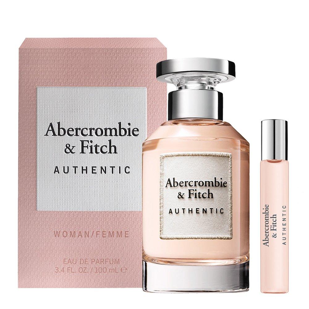 A&F Authentic 真我 女性淡香精 100ml 搭贈 同款隨身瓶15ml