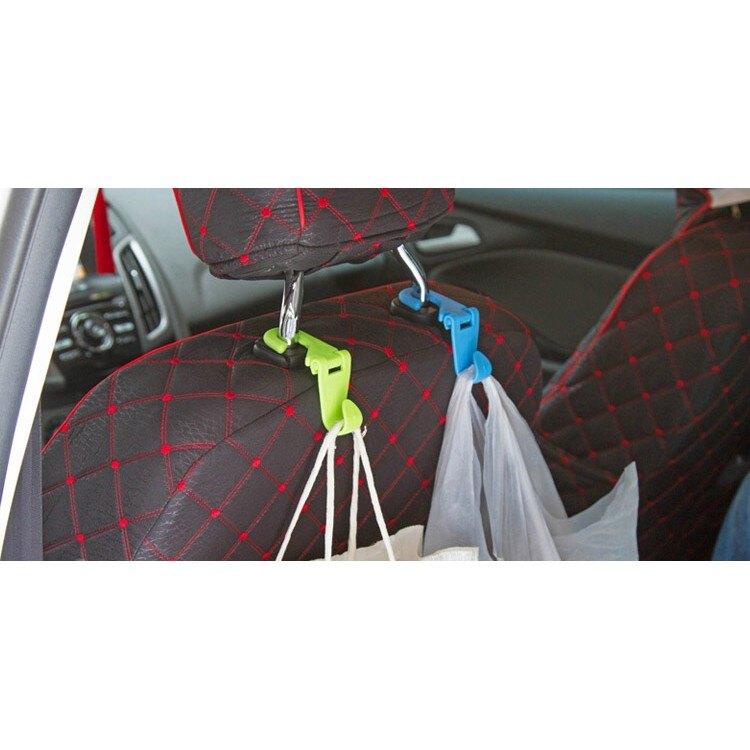 【ELise】車用椅背掛勾 創意汽車小用品 多功能車內座椅枕專用掛勾