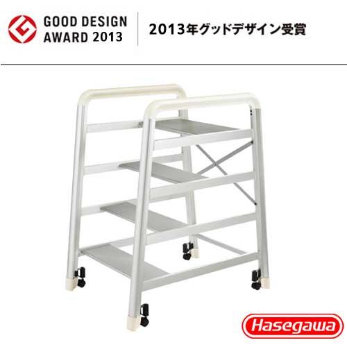 【長谷川Hasegawa設計好梯】Camber DE-4S 設計傢俱梯 銀色-4階(79cm)