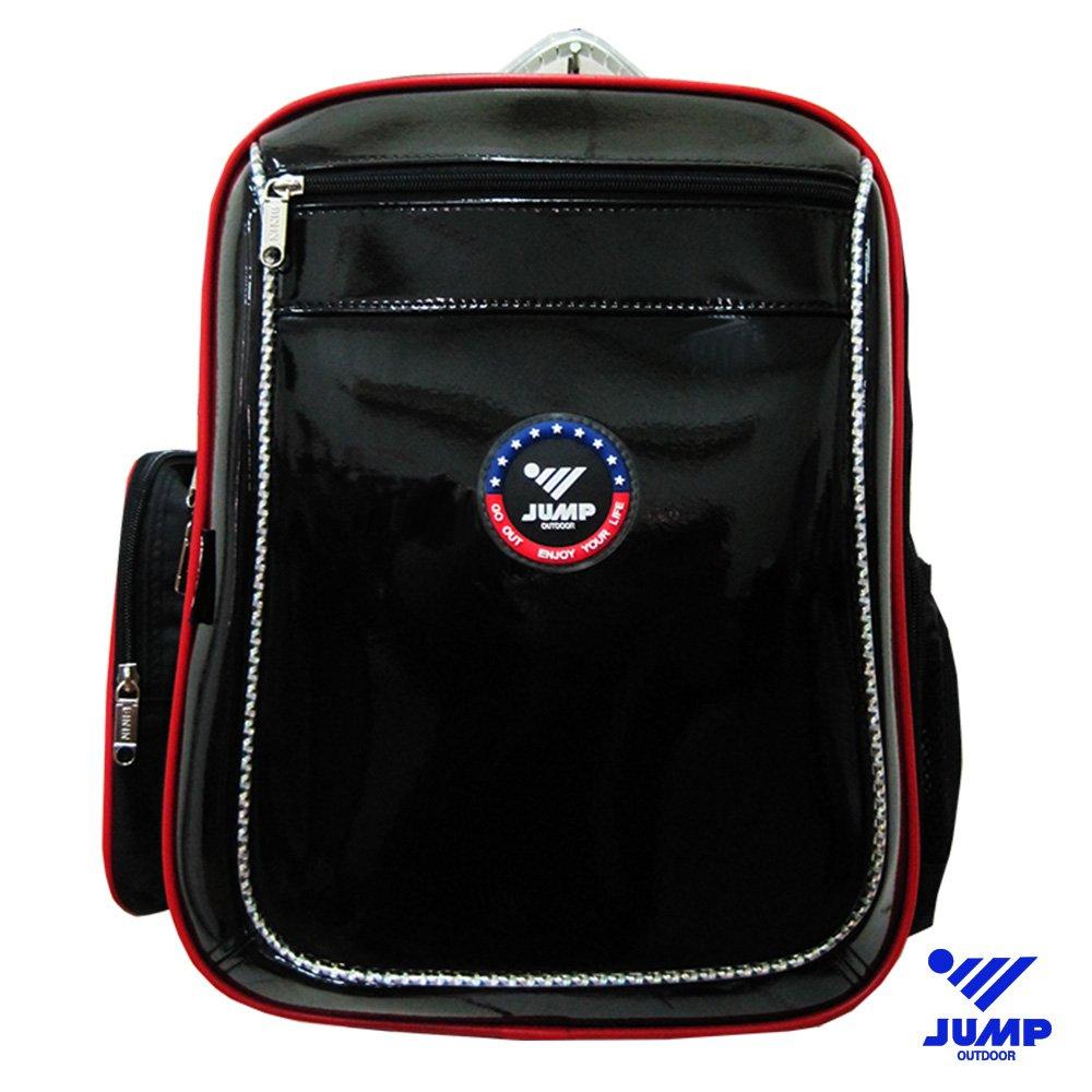 【JUMP】MIT 元氣護脊書背包(黑色)