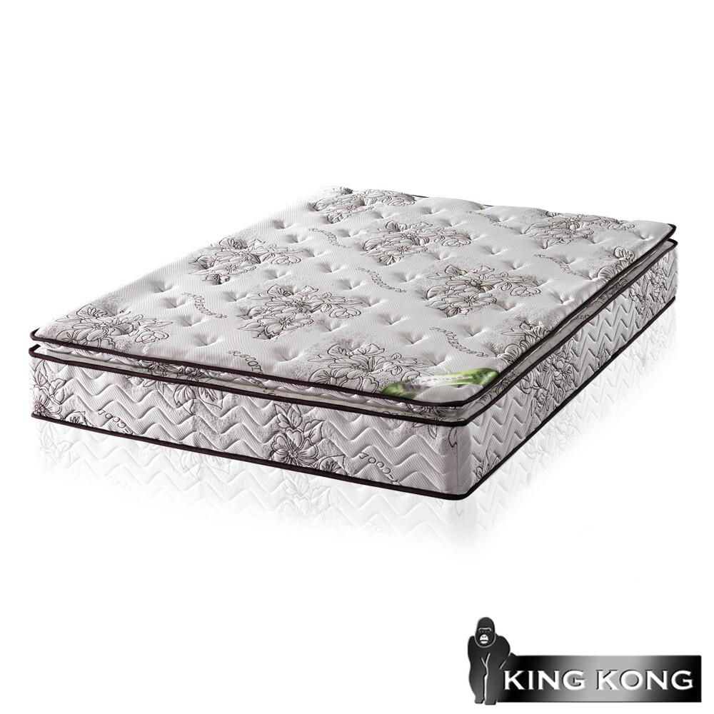 金鋼床墊正三線乳膠涼爽舒柔加強護背型3.0硬式彈簧床墊-單人特大4尺