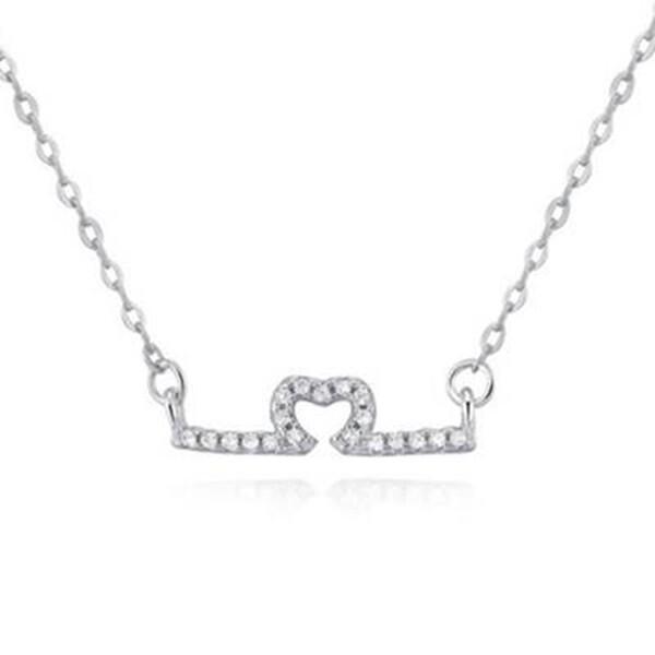 925純銀項鍊 吊墜-甜美精緻質感女配件73v134米蘭精品