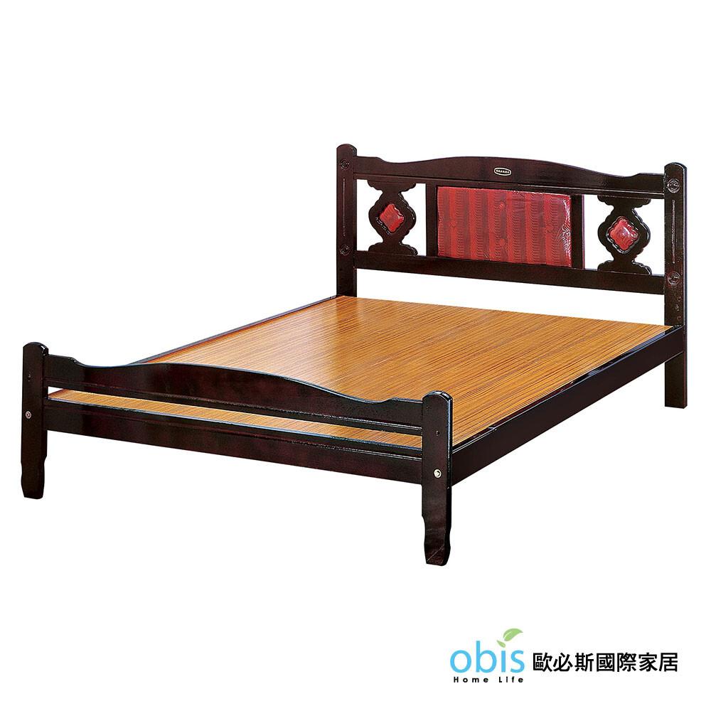 5尺梅花床(紅色)(18cs3/74-3)
