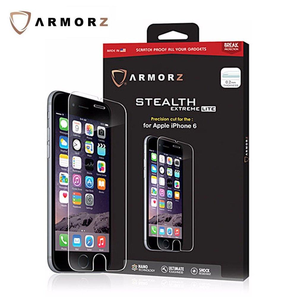 "ARMORZ iPhone 6S/6 4.7"" 美國康寧第三代玻璃 0.2mm 8H抗刮螢幕保護貼"