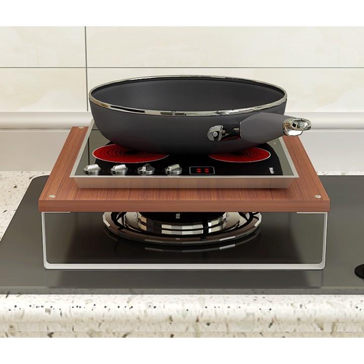 電磁爐架子支架臺煤氣竈蓋板蓋家用竈臺架子電飯煲支架廚房置物架