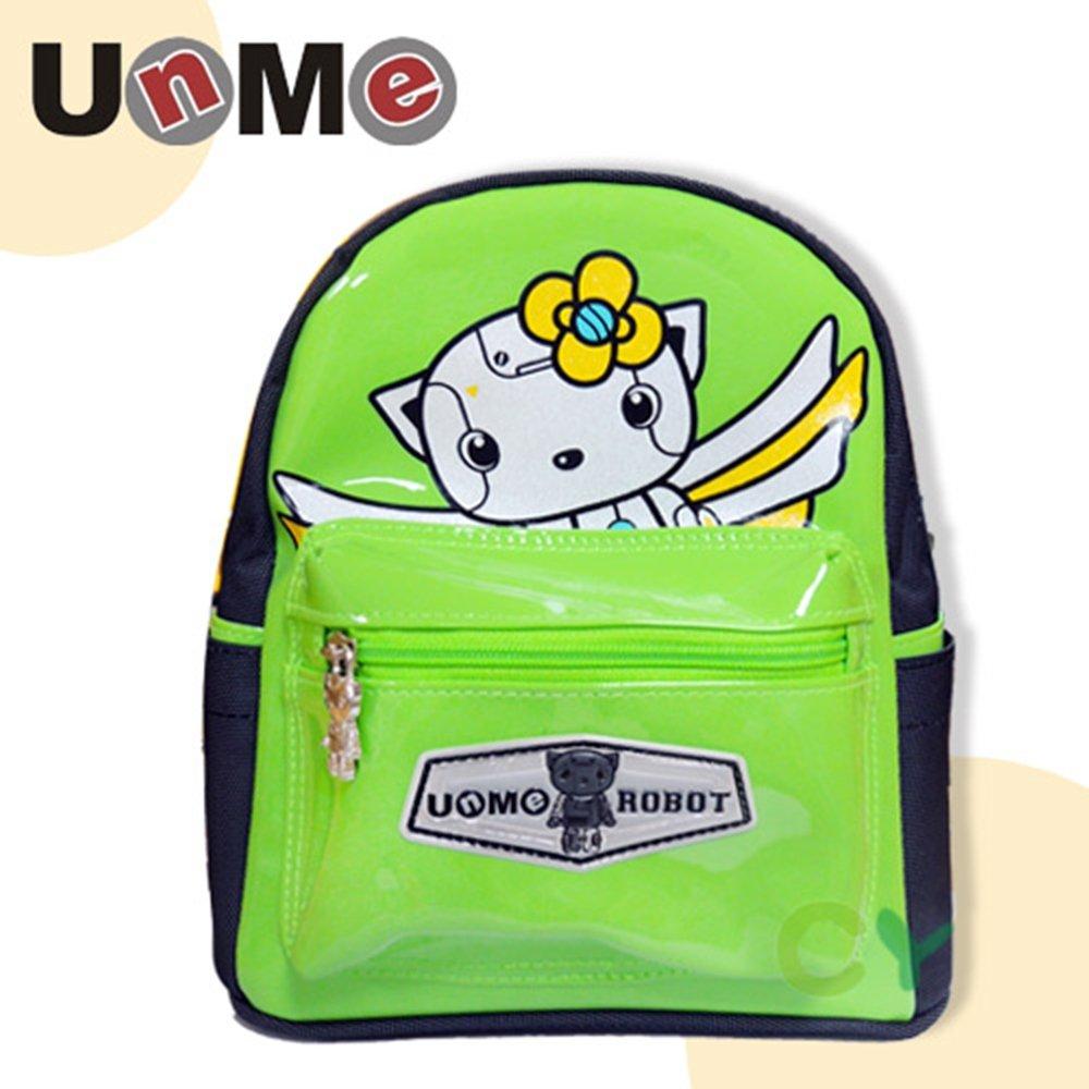 UnMe 機器人幼童小背包附防走失帶/綠色