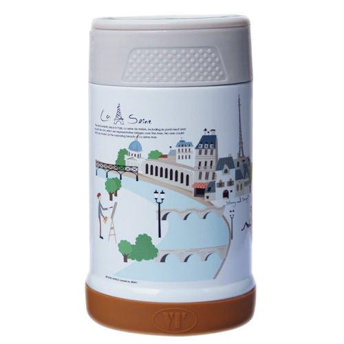 【S&D】唯美風景真空食物罐500CC SD-500-巴黎街景