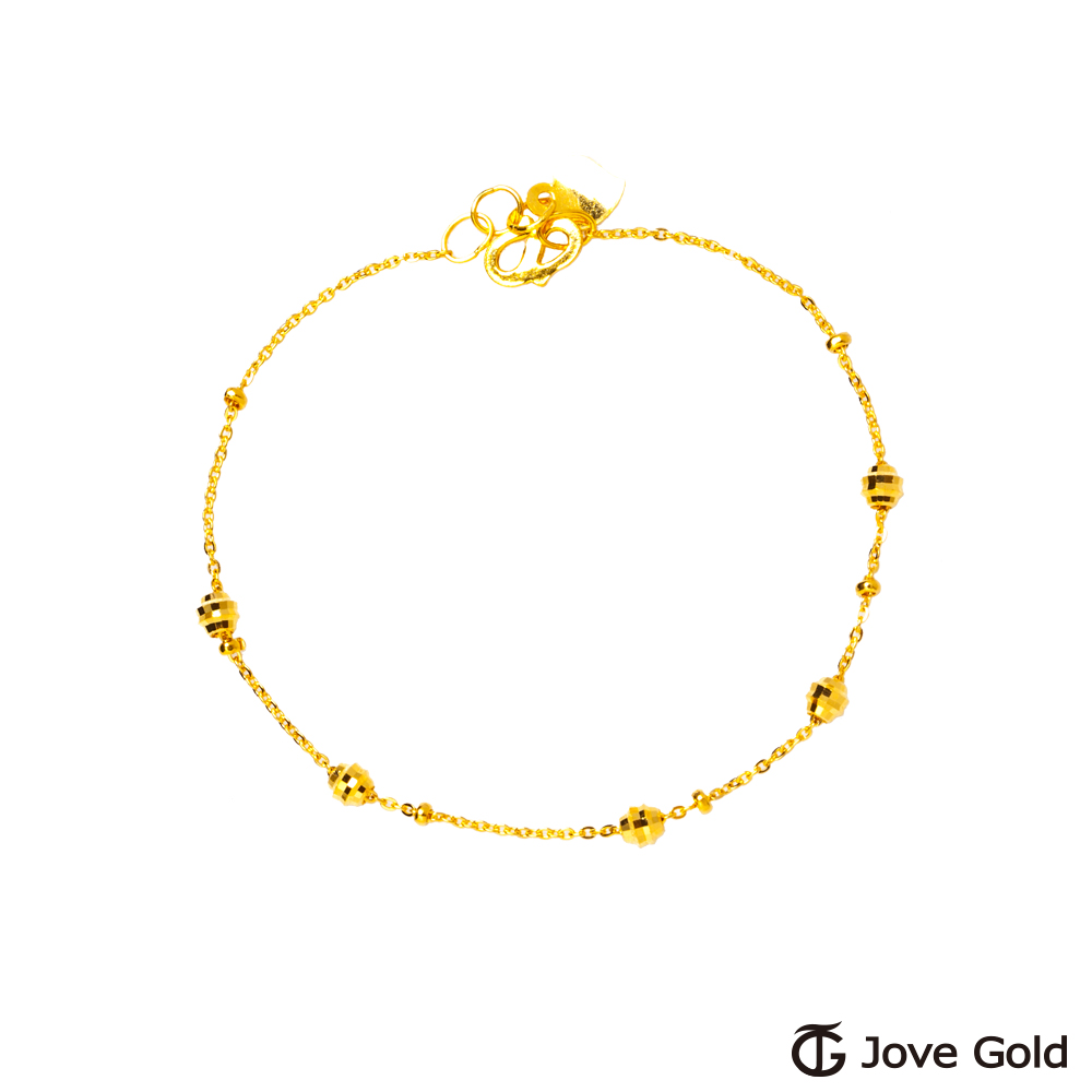 Jove Gold 漾金飾 靈感黃金手鍊