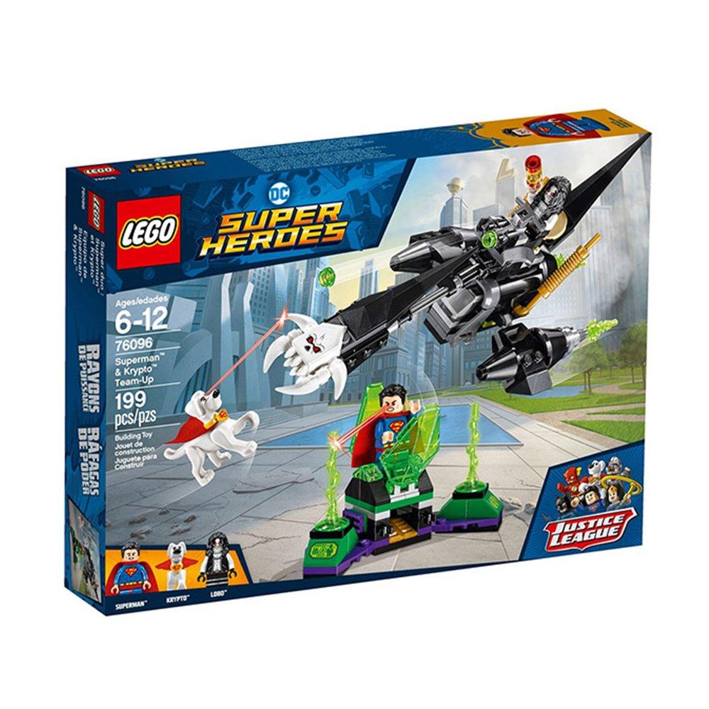樂高【LEGO】L76096超級英雄系列-正義聯盟 超人與氪普托的協力作戰
