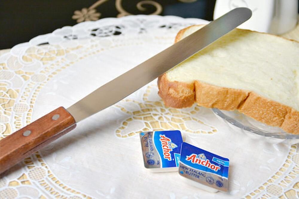 三箭牌-8寸抹平刀烘培器具 奶油刀 塗吐司 刮刀 抹刀 廚房用品 cs-080