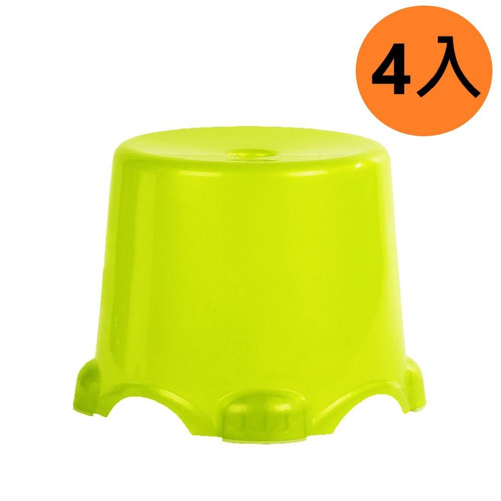 HOUSE 3Q椅凳 椅子 小椅 室內椅 4入組 大/中/小 隨機色出貨 免運 廠商直送 現貨