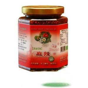 任選【金椿茶油工坊】茶油花椒 麻辣醬 250