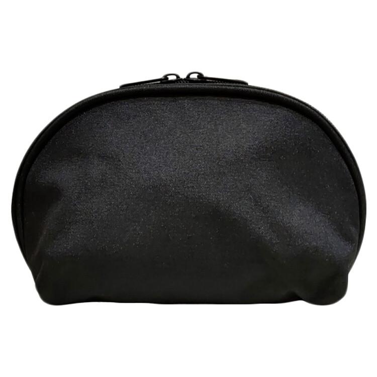 olina貝殼收納化妝包-黑色