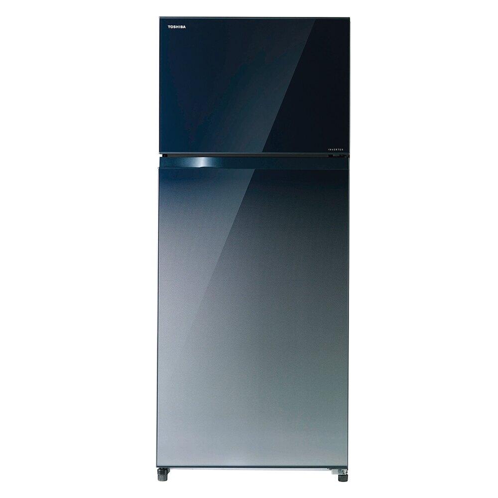 ★樂天生日慶-滿萬折五百★【TOSHIBA東芝】510L 1級變頻2門電冰箱/漸層藍(GR-AG55TDZ)