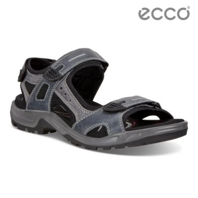ECCO OFFROAD 越野夏季戶外運動涼鞋  男鞋-藍色