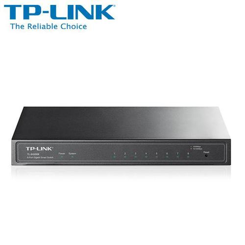 ★快速到貨★TP-LINK 普聯 TL-SG2008 8 Port 智慧型網路交換器