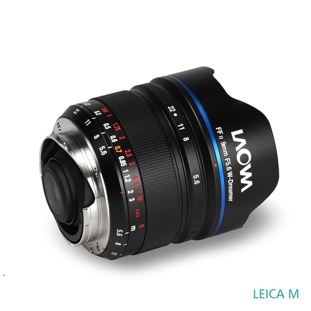 老蛙 LAOWA 9mm F5.6 W-Dreamer 超廣角鏡頭(公司貨) For LEICA M