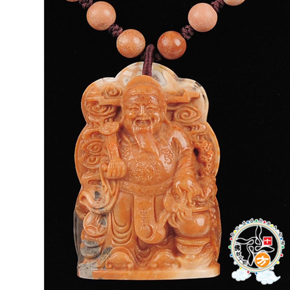 財神爺 極品龍宮舍利項鍊 十方佛教文物