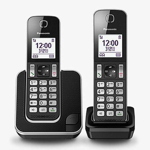 Panasonic國際牌 DECT數位雙手機無線電話 KX-TGD312TW