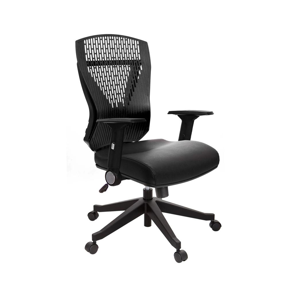 GXG 貓抓皮 短背電腦椅 (摺疊扶手) TW-8113 E1