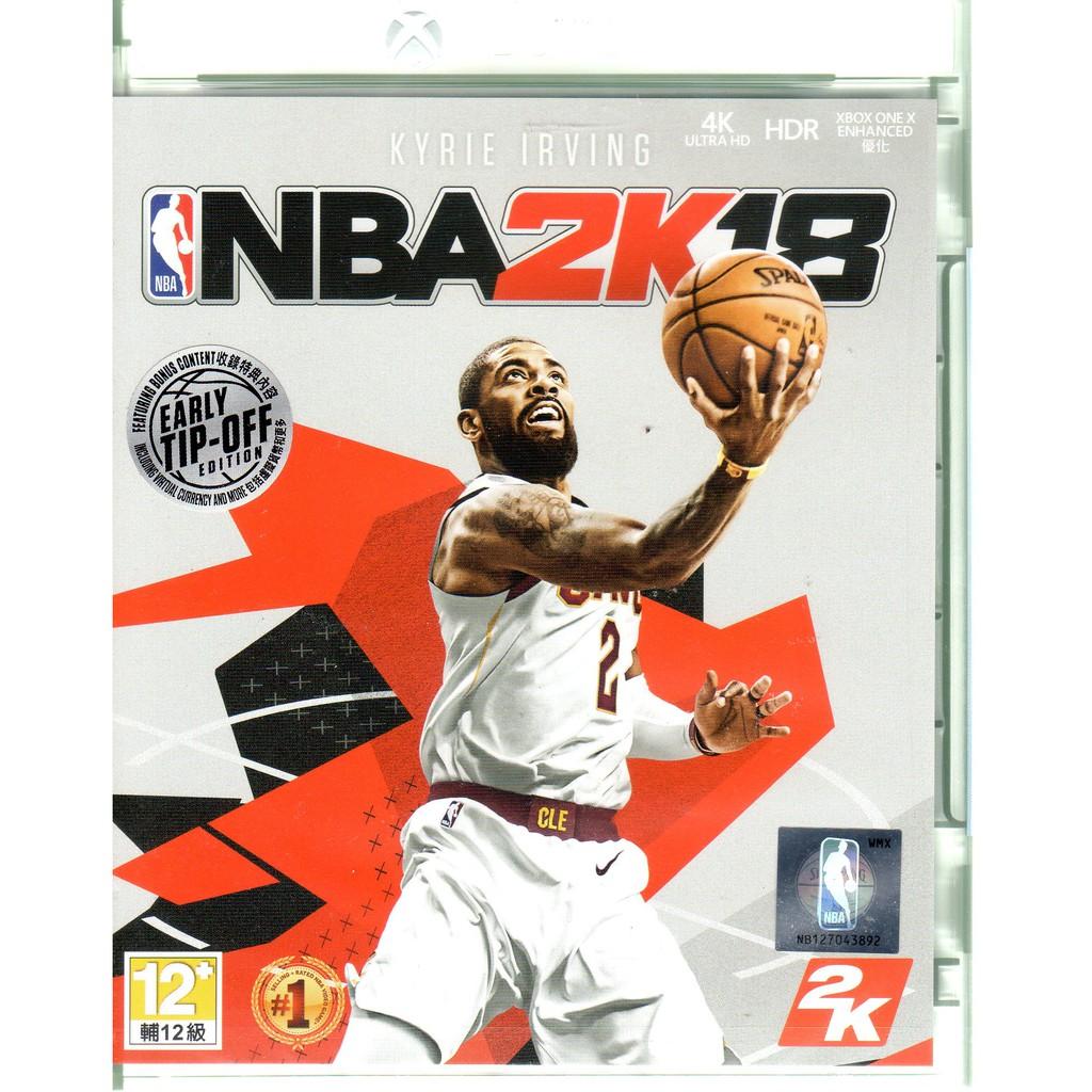 XBOXONE遊戲 美國職業籃球 NBA 2K18 中文亞版 【魔力電玩】