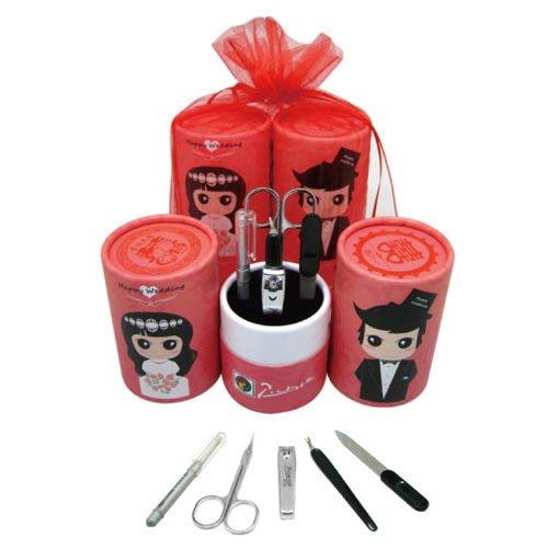 【婚禮小物】畢加索筒型五件式修容組50入-西式 PS-008B