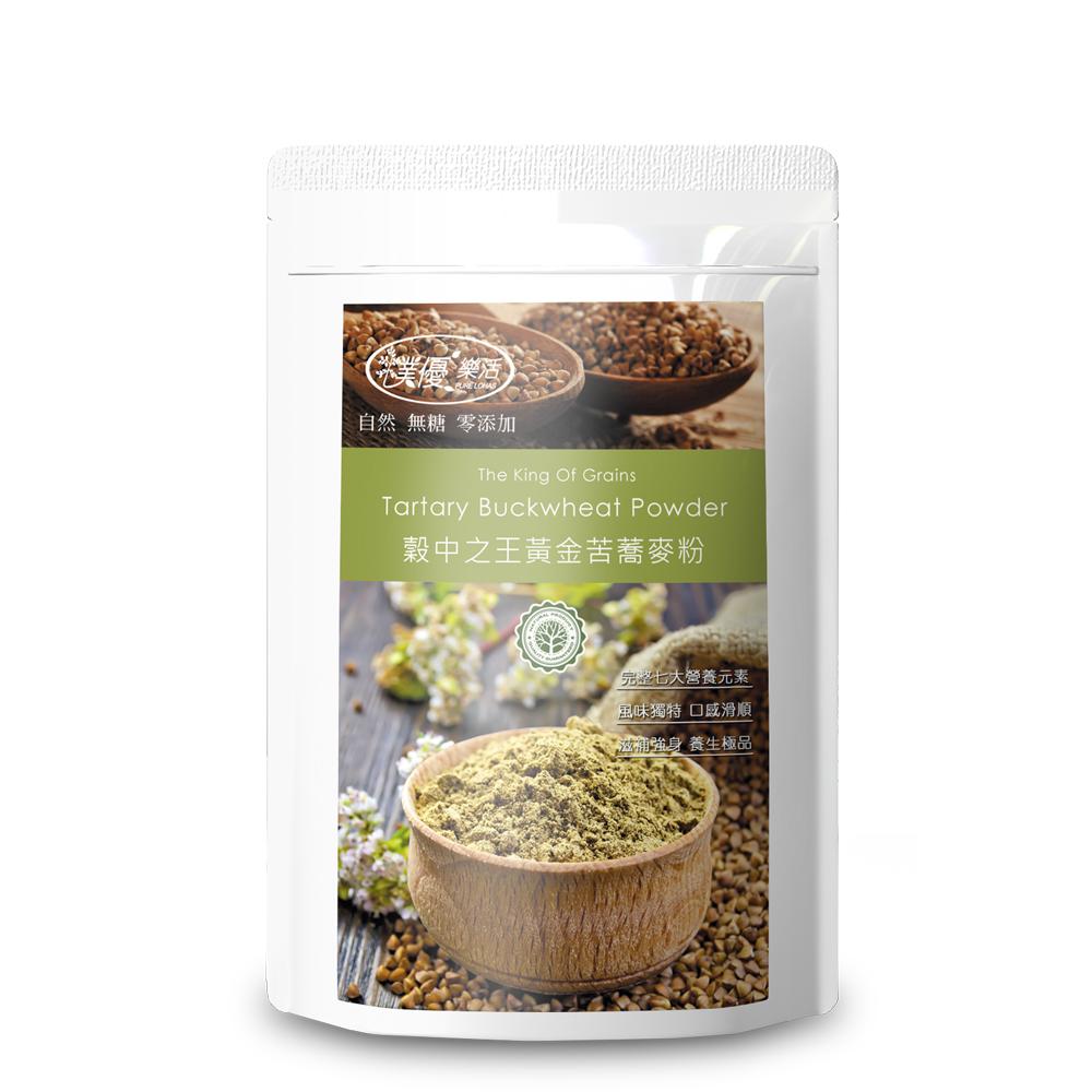 樸優樂活 穀中之王黃金苦蕎麥粉(500g/包)