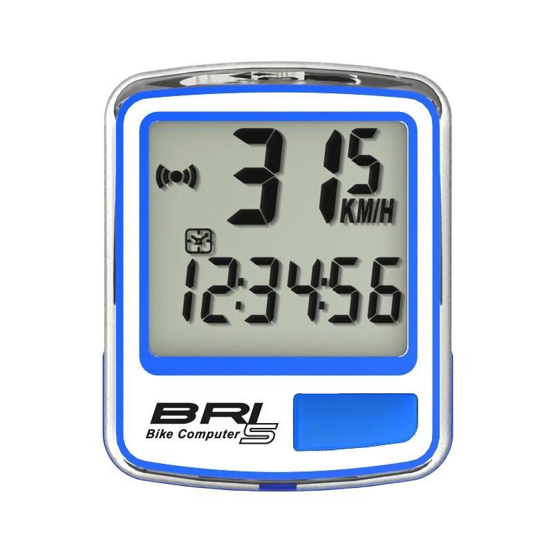 小謙單車全新echowell bri-5 自行車碼錶/ 有線碼錶 / 5大功能(藍色)