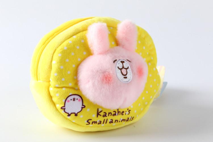 kanahei卡娜赫拉的小动物粉兔 零錢包 手拿包 立體造型