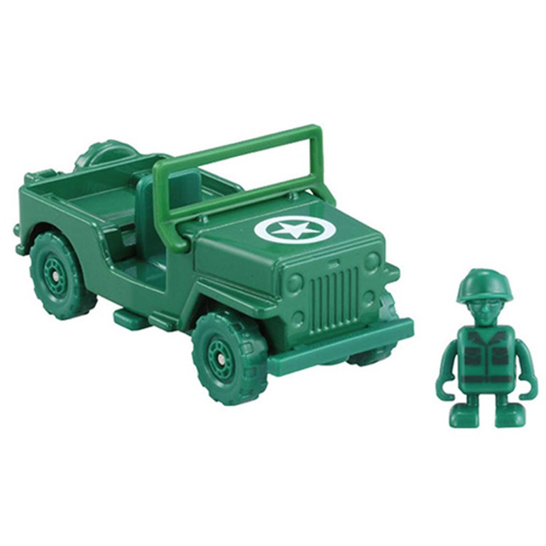Tomica - TOMICA-TS4 TS 綠色小士兵&軍事車