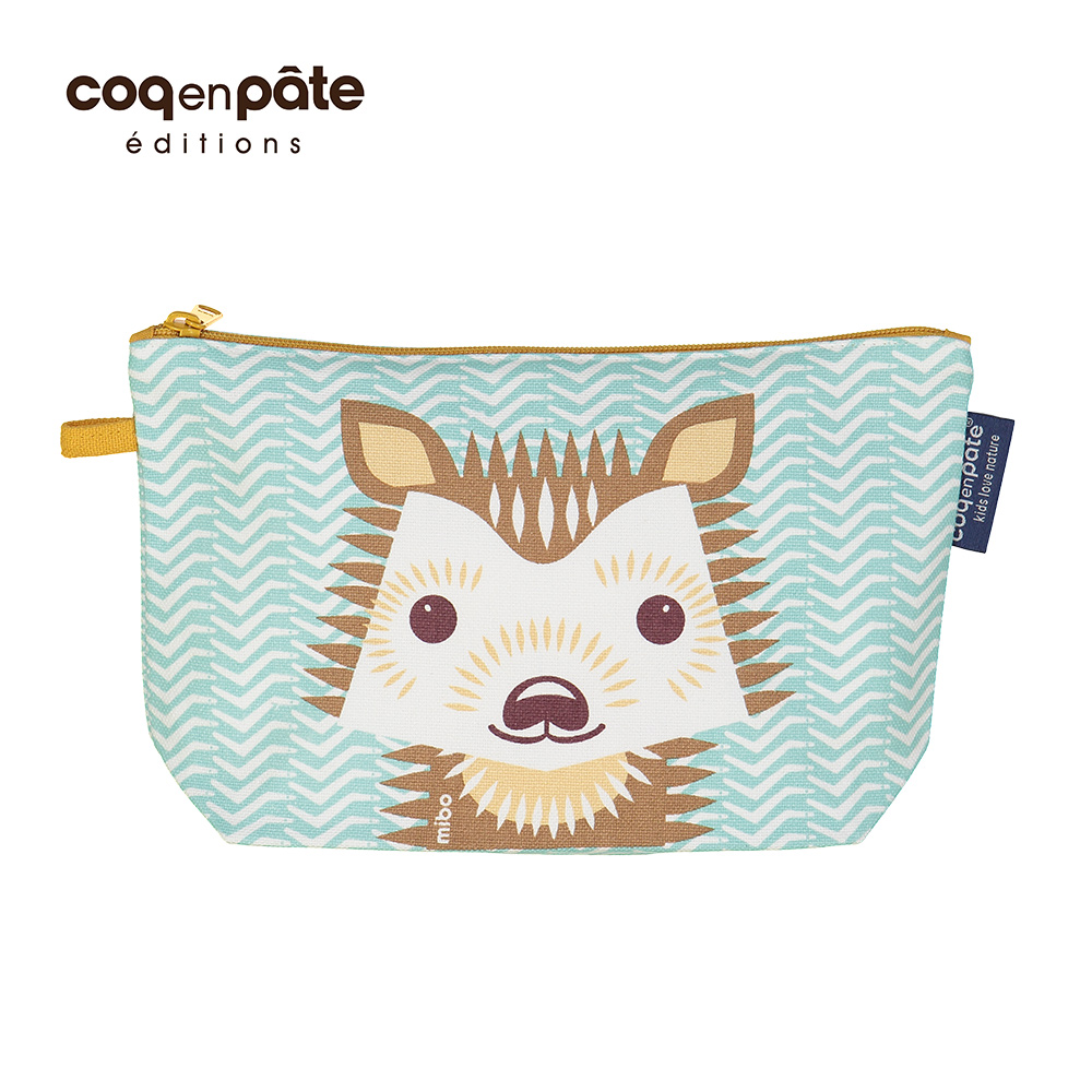 COQENPATE 法國有機棉布包-畫筆兒的家-刺蝟